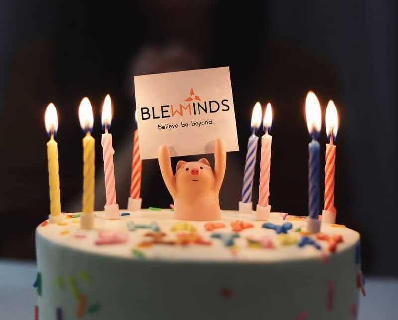 Happy Birthday BlewMinds..!! 5